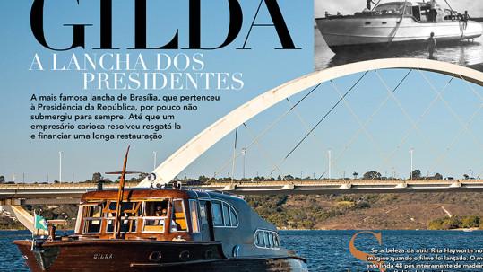 Gilda, a lancha dos presidentes - Villa Náutica