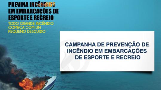Prevenção de incêndio de embarcações - Villa Náutica